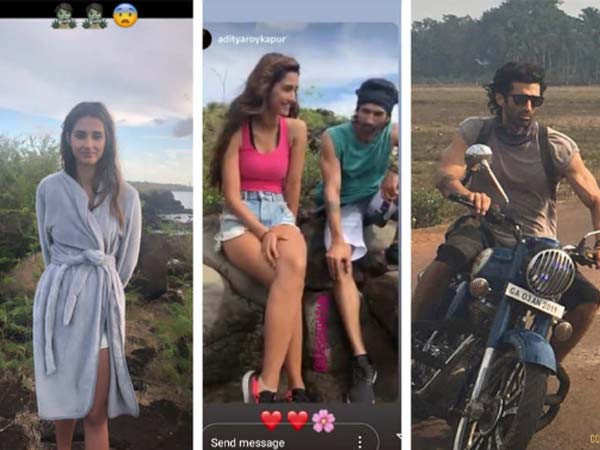 Disha Patani shares unseen pictures from the sets of Malang