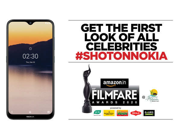 Catch the action at the 65th Amazon Filmfare Awards with Nokia 2.3, that brings powerful AI to everyone