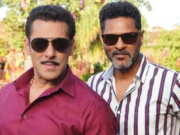 Prabhudheva reveals one on-set habit of Salman Khan