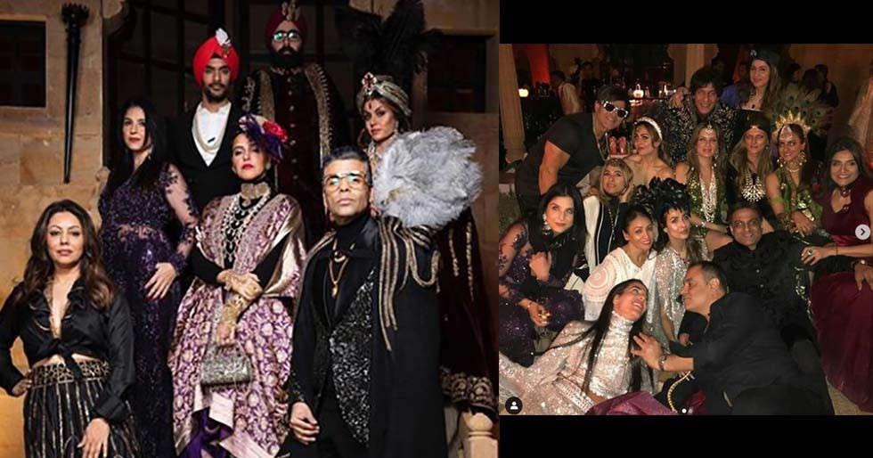 Bollywood stars up their fashion game for Arvind Dubash's 50th birthday bash