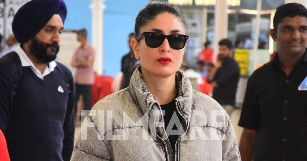 Kareena Kapoor Khan returns to Mumbai post shooting for Laal Singh Chaddha