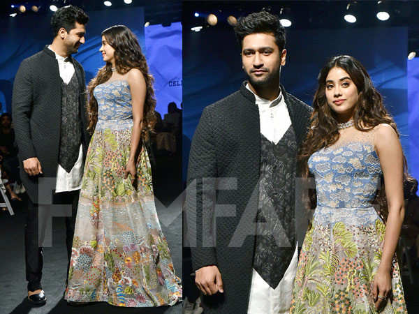 Takht duo Vicky Kaushal and Janhvi Kapoor set the ramp on fire