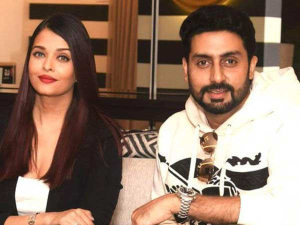 Abhishek Bachchan reacts to poster of wife Aishwarya Rai Bachchan's next