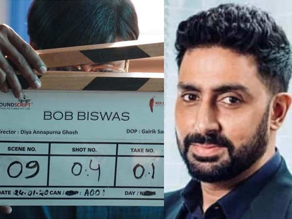 Abhishek Bachchan commences the shoot of Bob Biswas