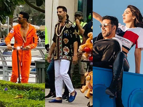 All details about Akshay Kumar and Kiara Advani's song shot in Dubai