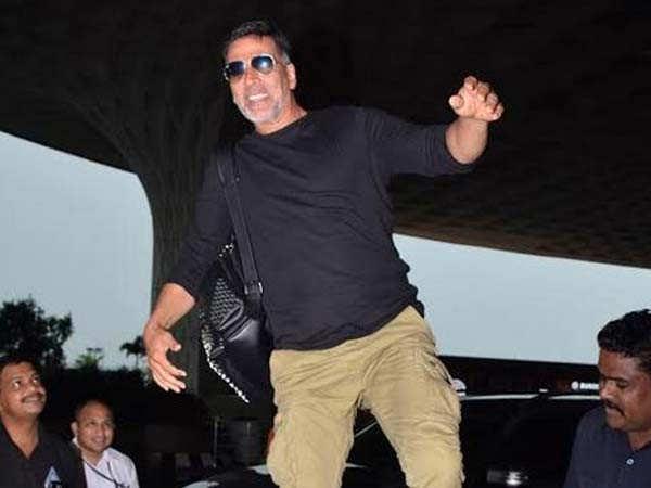 Akshay Kumar proves why he is the King of pranks yet again