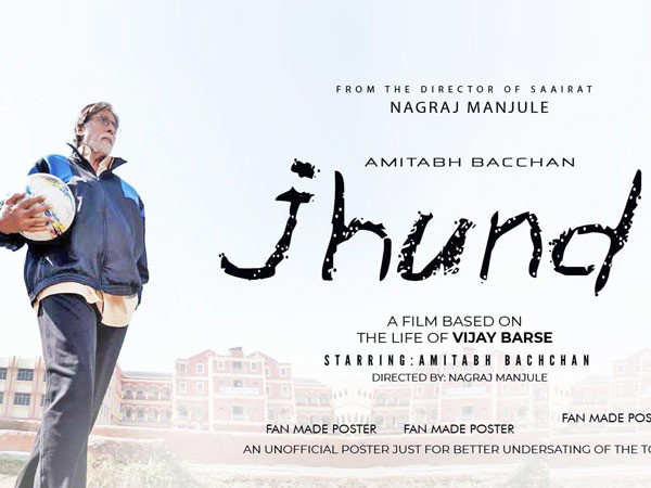Amitabh Bachchan shares the teaser of  his upcoming film Jhund