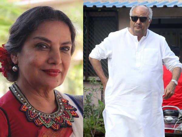 Boney Kapoor says Shabana Azmi is recovering well