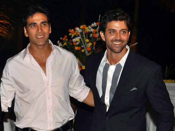 Akshay Kumar and Hrithik Roshan to collaborate on a project soon?