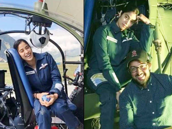 Janhvi Kapoor talks about her experience of flying a chopper