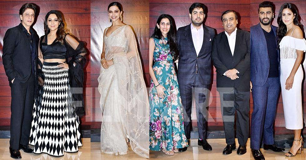 Bollywood stars turn up at Javed Akhtar's 75th birthday bash