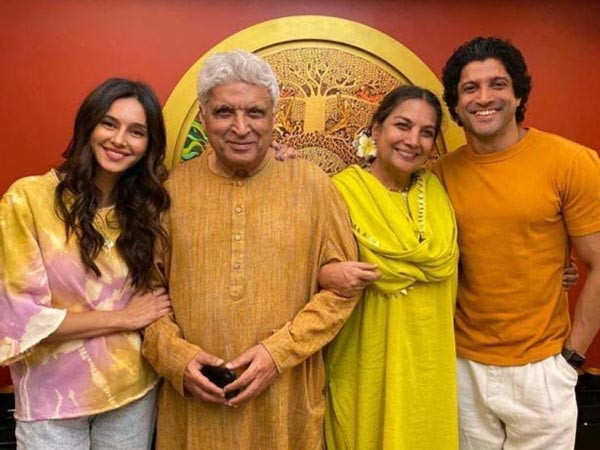 Javed Akhtar on Farhan Akhtar and Shibani Dandekar's marriage rumours