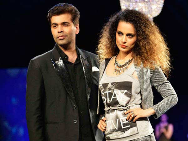 I respect Kangana's craft - Karan Johar