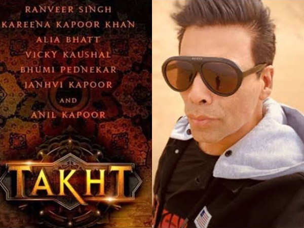 Karan Johar begins with the recce for Takht
