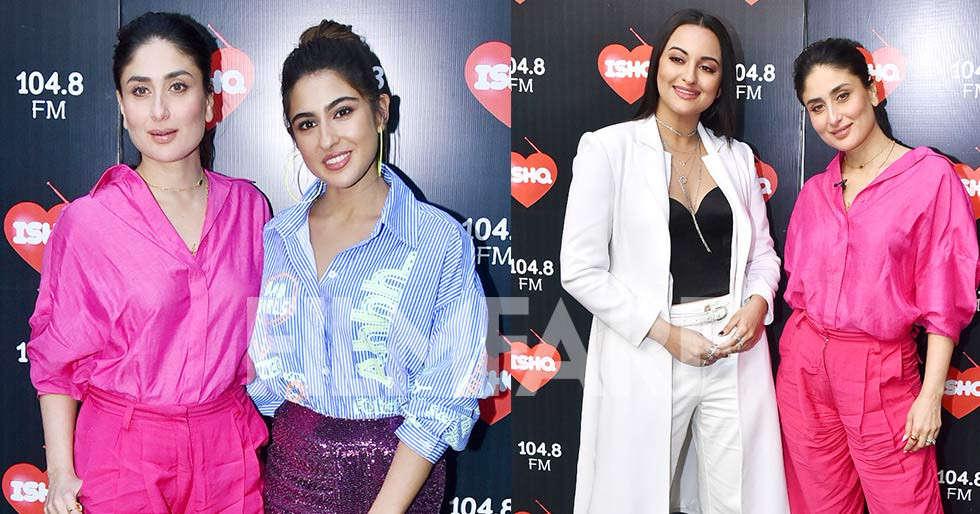 Kareena Kapoor Khan hosts Sara Ali Khan, Sonakshi Sinha on her show