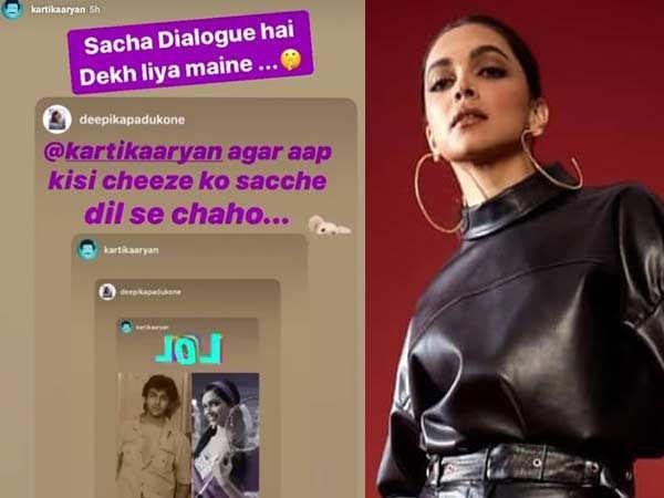 Kartik Aaryan and Deepika Padukone to Work Together?
