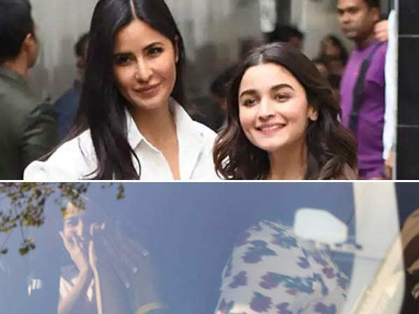 Alia Bhatt and Katrina Kaif shoot down rivalry rumours as they get spotted together