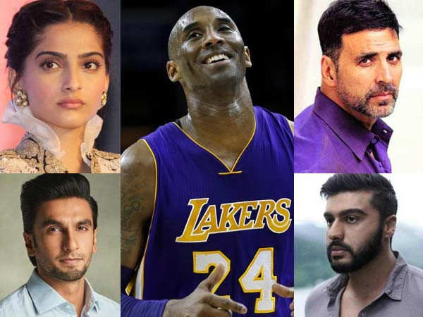 Bollywood mourns the loss of NBA legend Kobe Bryant