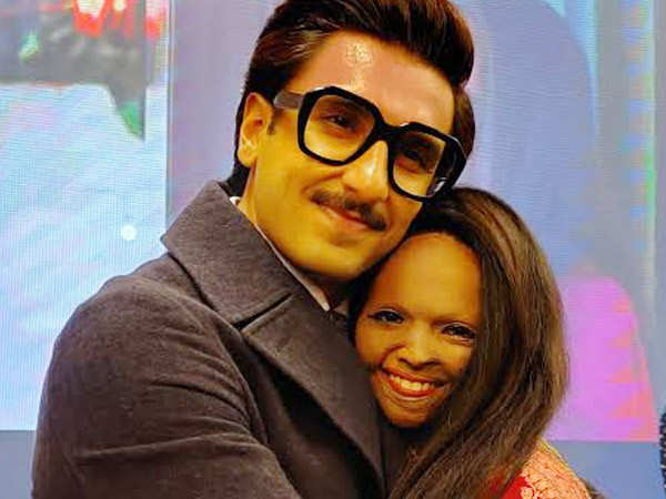 Laxmi Agarwal shares a picture with Ranveer Singh from the Chhapaak screening