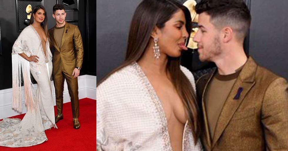 Priyanka Chopra and Nick Jonas dazzle at the Grammys 2020