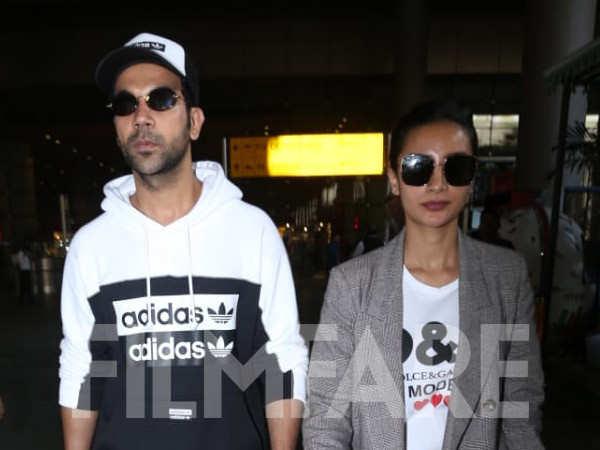 Rajkummar Rao and Patralekha return from their Shillong holiday