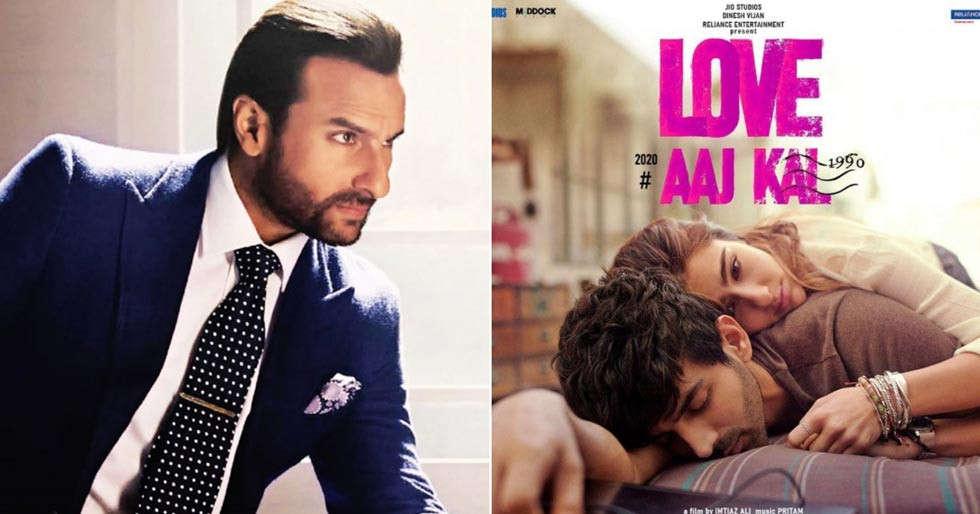 Saif Ali Khan reacts to Sara Ali Khan and Kartik Aaryan's Love Aaj Kal