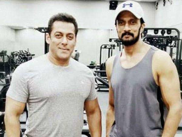 Salman Khan gifts a BMW M5 to Dabangg 3 co-star Kiccha Sudeep