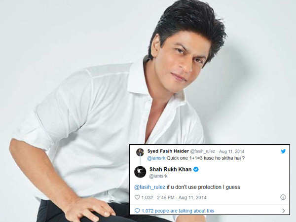 12 times Shah Rukh Khan floored us with his witty replies on Twitter