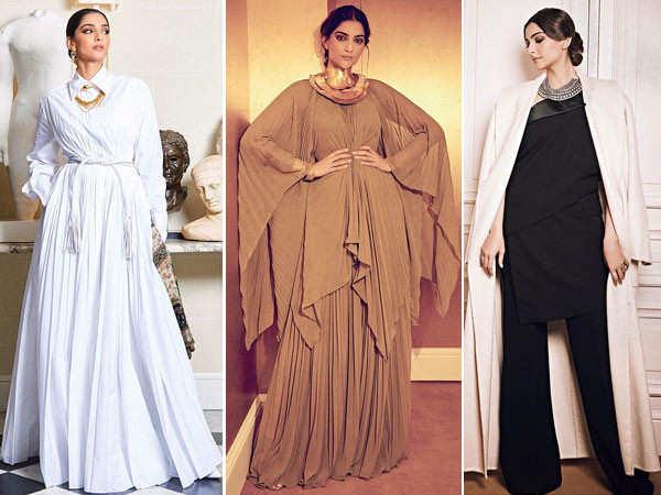 Sonam Kapoor looks like a million bucks at the Paris Fashion Week