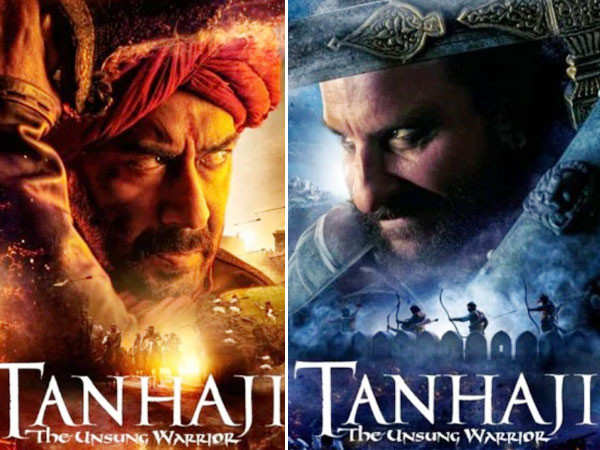 Ajay Devgn and Saif Ali Khan's Tanhaji has an action-packed climax