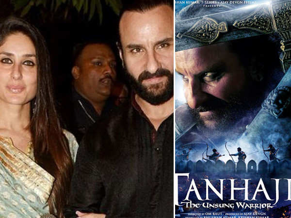 """Kareena is really looking forward to seeing Tanhaji"" – Saif Ali Khan"