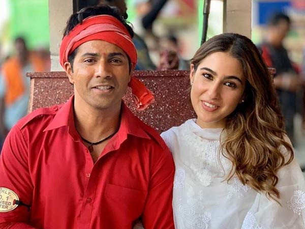 We're trying to do what Govinda and Karisma did in the original - Varun Dhawan