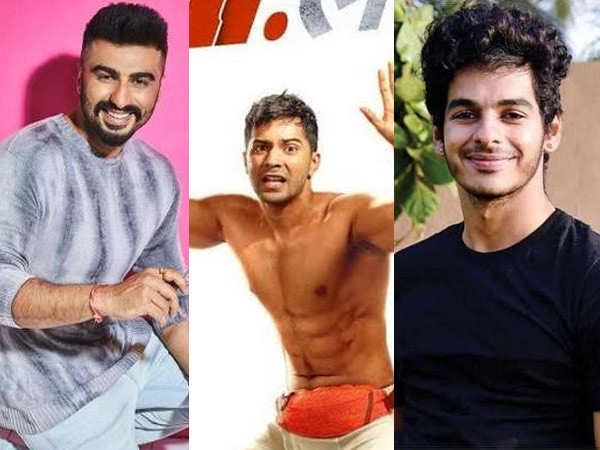 Arjun Kapoor and Ishaan Khatter react to Varun Dhawan's first look from Mr. Lele