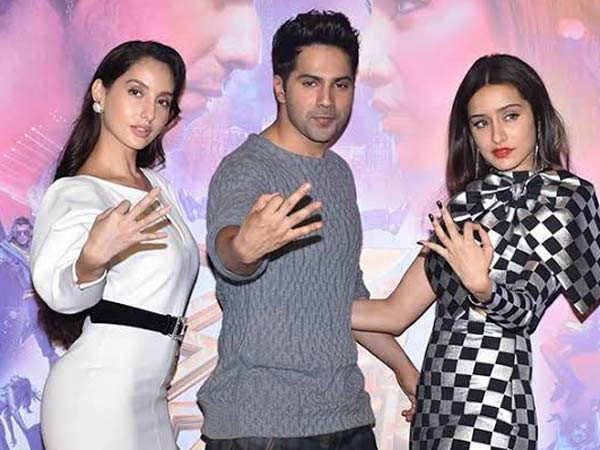 Varun Dhawan, Shraddha Kapoor and Nora Fatehi shot for Street Dancer 3D in extreme conditions