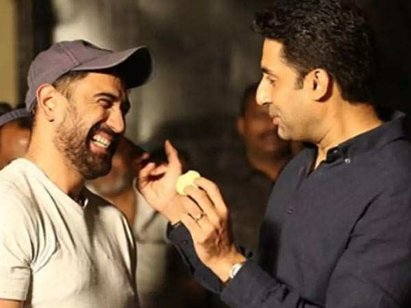 Amit Sadh shares an appreciation post for Abhishek Bachchan