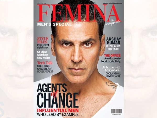 Download Femina's Annual Men's Special Issue Ft. Akshay Kumar Now