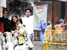 Photos: BMC sanitizes Amitabh Bachchan's bungalow in Mumbai