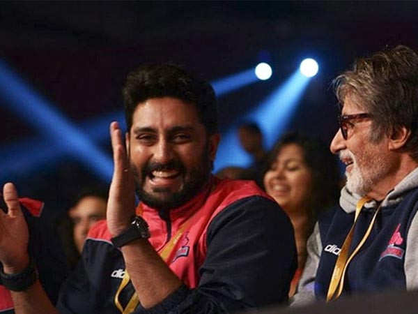 Here's an update on Amitabh Bachchan and Abhishek Bachchan's health