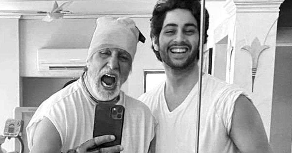 Amitabh Bachchan's grandson Agastya Nanda gears up for his Bollywood debut?