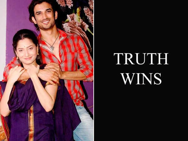 Ankita Lokhande Shares a Post Saying Truth Triumphs