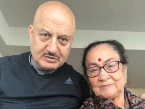Anupam Kher reveals his mother is much better now