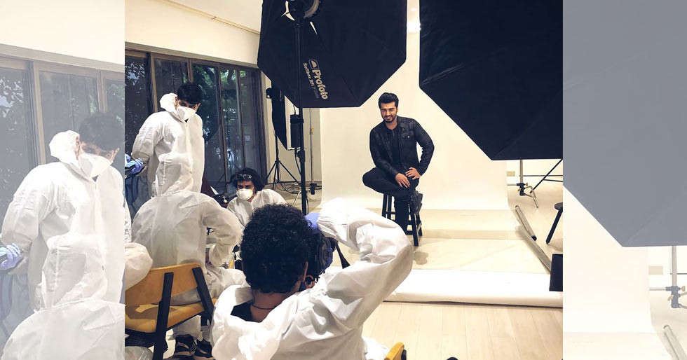 Arjun Kapoor starts shooting; takes to Instagram to share the 'new normal' click