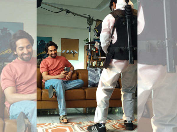 Ayushmann Khurrana feels great to return to shoot almost after four months