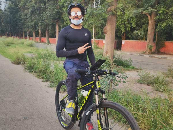 Ayushmann Khurrana's Perfect Way to Stay Fit Amidst the Pandemic in Chandigarh