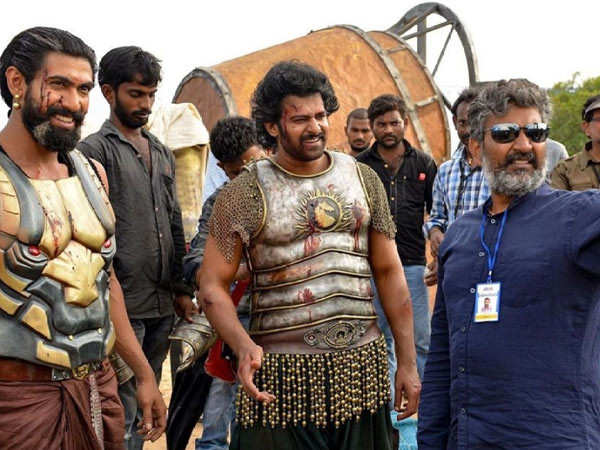 Team Baahubali celebrate the seventh anniversary of the film going on floor
