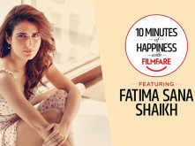 10 Minutes of Happiness: Fatima Sana Shaikh on all the things she loves