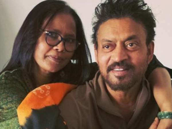 Irrfan Khan's wife Sutapa Sikdar gets emotional three months after the actor's demise