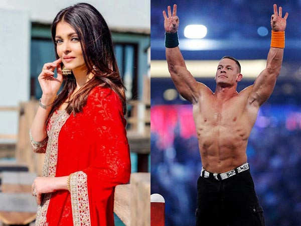 John Cena shares a picture of Aishwarya Rai Bachchan on Instagram