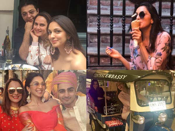 Birthday treat: Peek into Kiara Advani's personal life with these pictures