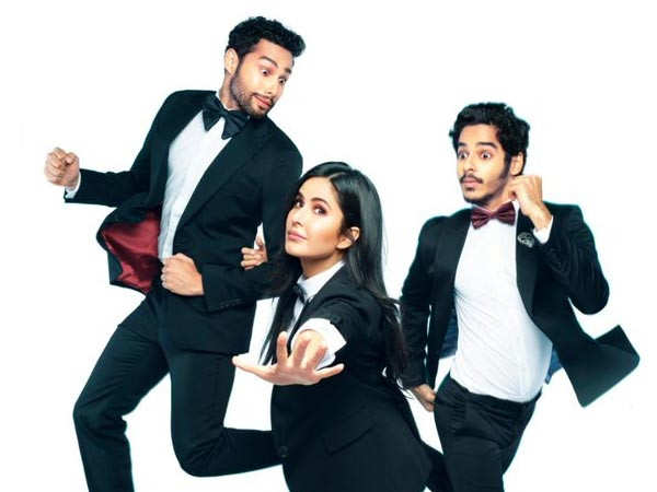 Farhan Akhtar Announces Phone Bhoot with Katrina Kaif, Siddhant Chaturvedi and Ishaan Khatter